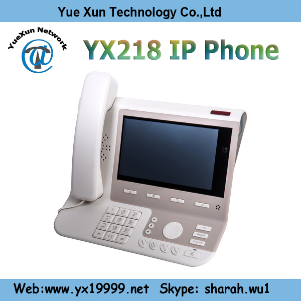 voip phone pstn video android ip phone 4 sip touch screen android desk phone YX218
