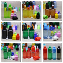 Colorful plastic bottle supplier penang for smokeing juices