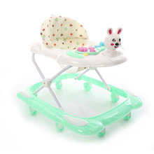 Cute baby walker car shape with different color
