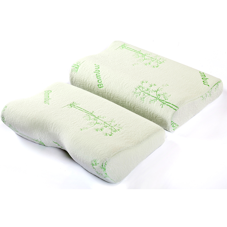 best for sale neck charcoal aloe vera bamboo memory foam pillow