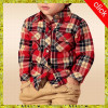 Wholesale children clothing long sleeve shirt,plaid shirt designd for boys