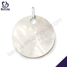 Round shape 925 silver plate california wholesale jewelry