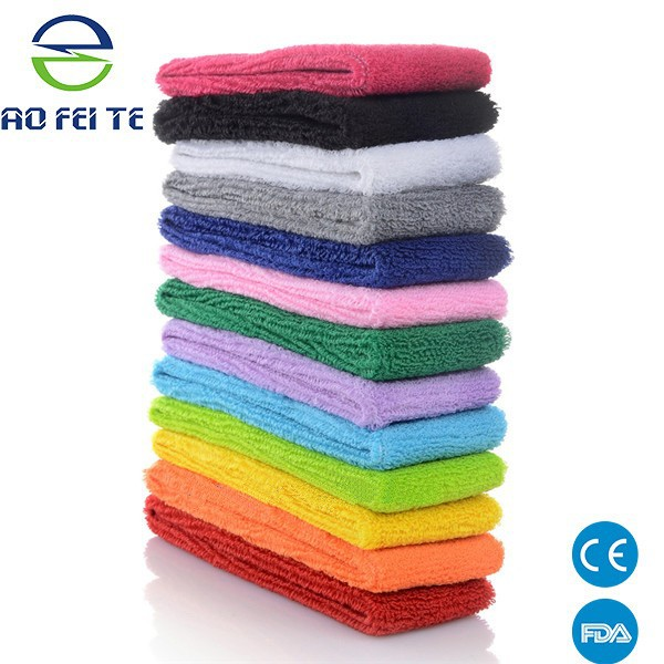 bulk purchasing website Neon Colored customized logo sport sweatbands