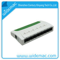 Small Network Switch Hub Mini 8 Port Ethernet Switch Mini Desktop 8 Ports 10/100M Ethernet switch(TH-1008X)