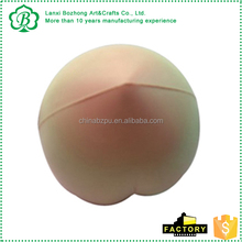 2016 Wholesale artificial foam food, PU stress peach