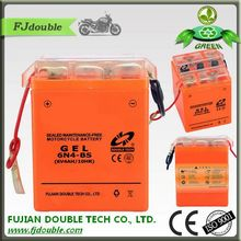 DOUBLE TECH electric scooter battery box 6V 4AH motorcycle battery 6N4-BS