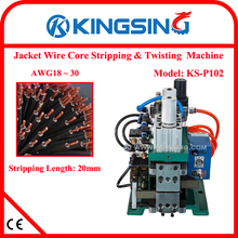 KS-P102 Pneumatic Wire Stripping and Twisting Machine, Electric Wire Stripper and Twister