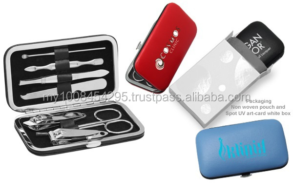 22102 PU Leather Manicure Set ( promotional gift, corporate gift, premium gift, souvenir )