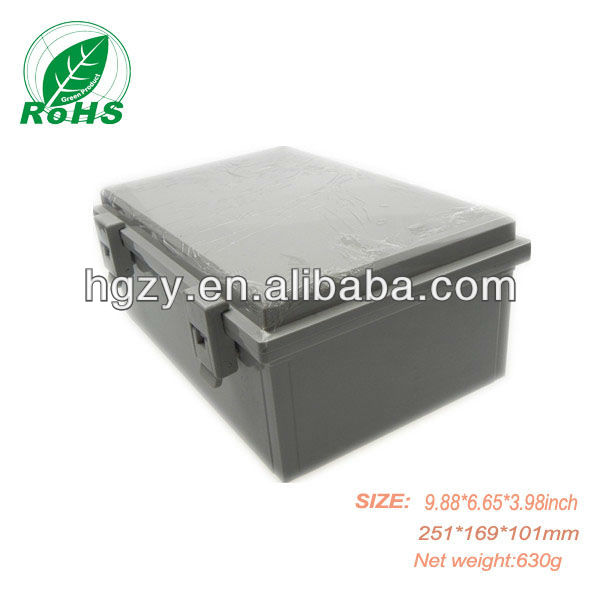 IP65 ABS Custom Electronic Power Plug Plastic Enclosures 250*170*100mm
