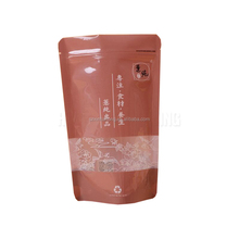 Shenzhen wholesale recyclable eco friendly plastic zipper food pouch with window