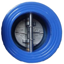 Ductile Iron Body Stainless Steel Disc Dual Plate Wafer Check <strong>Valve</strong>