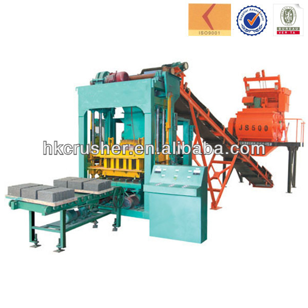 high output portable hollow block machine