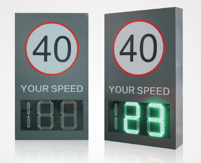LED Radar Speed Sign of urban/rural roads/highway/the school/pedestrian