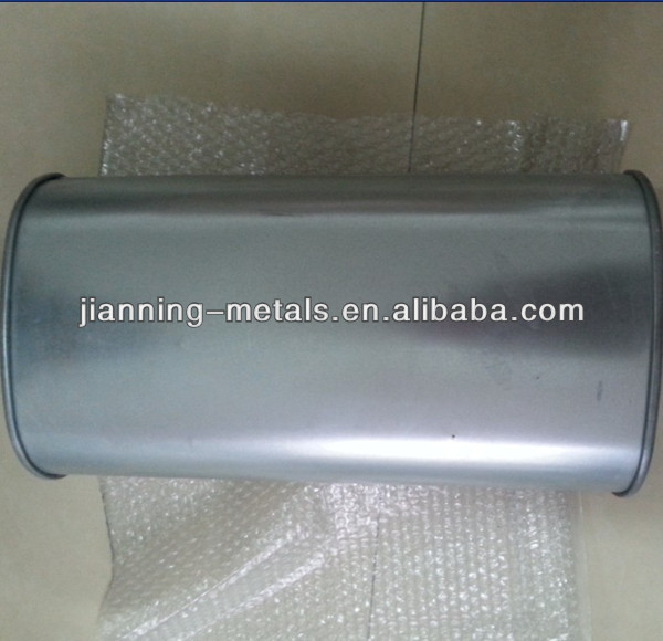 exhaust muffler barrel