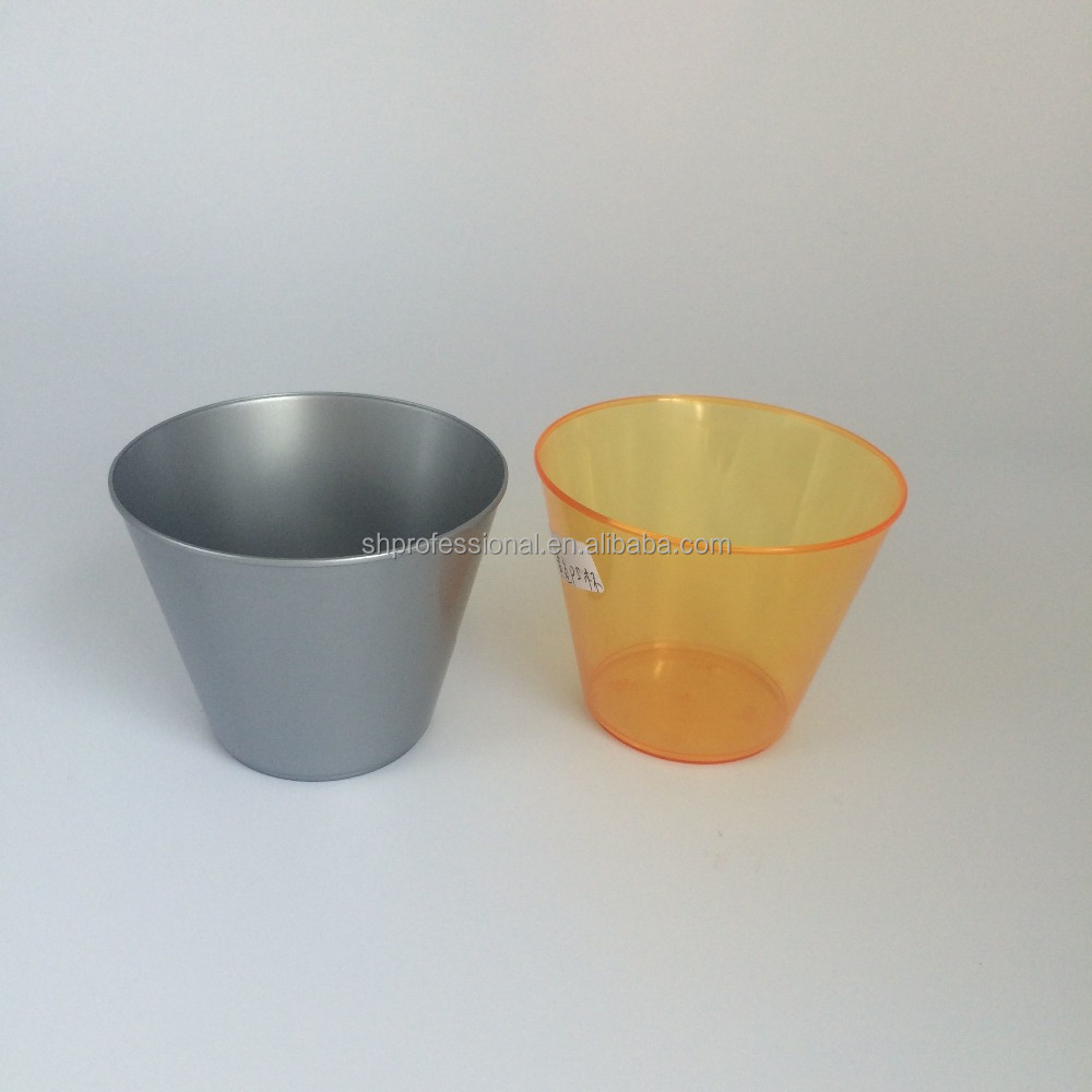 Plastic Water Cup Tumblers/Customized Beverage Plastic Disposable Cup
