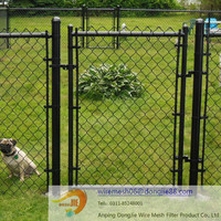 High quality yard guard chain link fence/High quality used galvanized/pvc coated chain link fence