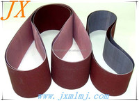 China electro coated waterproof abrasive emery cloth sanding belt for surface polishing and cleaning