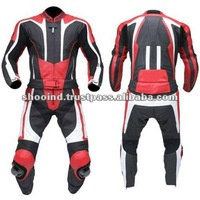 Motorcycle Racing Leather 1 PC Suit / Motorbike Leather 1 PC Suit
