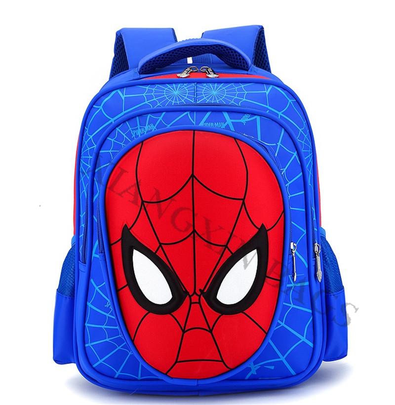 Kids 3d Facebook Spiderman School Bag - Buy Spiderman School Bag ...
