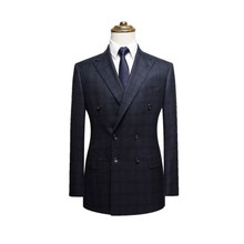 Modern slim fit custom 70% wool latest design men's wedding suits top brand 2 piece coat pant men suit