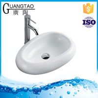 GT-420 bathroom new design small outdoor wash basin for countertop