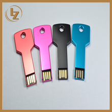 Factory Price Wholesale Metal Key USB 2.0 Flash Drive OEM U Disk