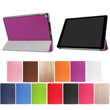 Three Folds Magnetic Slim Flip Smart Cover Case for iPad 9.7 Pro 2017 with Soft TPU Case