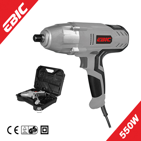 EBIC Power Tool 520W electric adjustable torque impact wrench