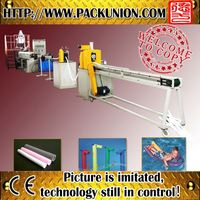 pearl cotton film PE foaming hose extruding machine