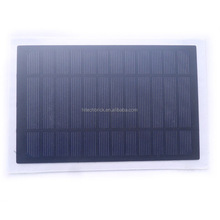 6V 3.5W Mini Monocrystalline Silicon Solar Panel 210*135mm A Grade Small Solar Cell PV Module for DIY Solar Kits