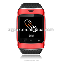 Bluetooth watch with iPhone/Samsung/Blackberry/Nokia and Huawei phone