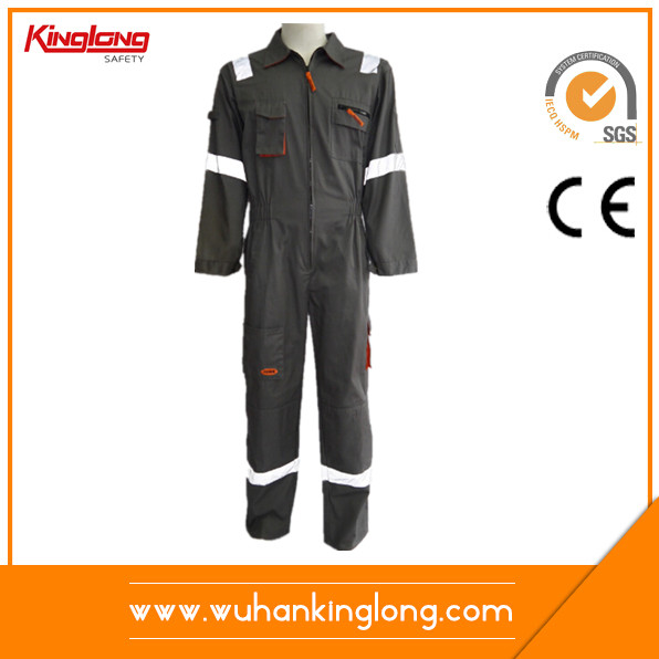 polyester cotton fabric 240gsm safety workwear coverall