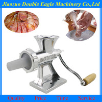 Household aluminum small meat grinder, manual multifunctional ground meat treasure, enema