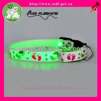 cheap led light dog collar/samples free colombia