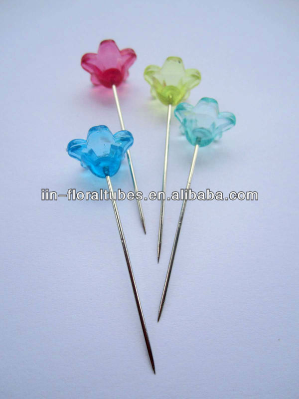 Diamante pin corsage pins Flower design