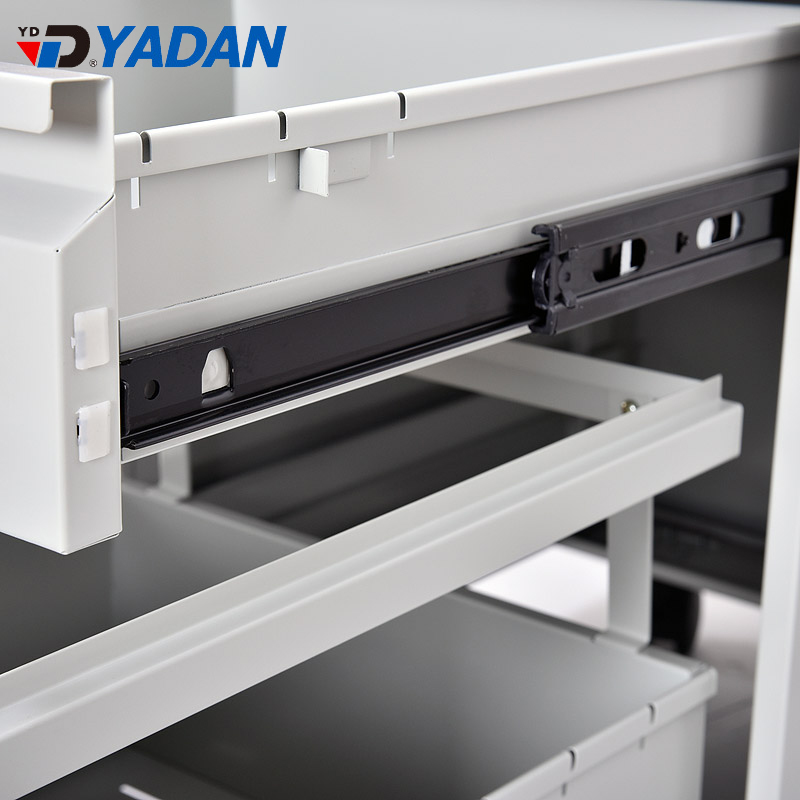 YADAN CHINA FACTORY SUPPLIER metal cabinet shelf support 3 drawers filing mobile