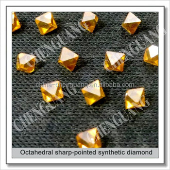 Octahedral sharp-point HPHT diamond for dressing tools