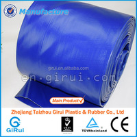 Agriculture irrigation pipe non smell pvc lay flat water hose