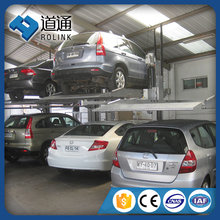 mechanical double stacker hydraulic car parking lift