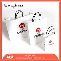 Paper bag with logo print Mildewproof Cheap Drawstring Bags with Drawstring for jute shopping bag