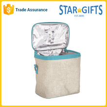 Insulated Interior Shoulder Cooler Bag with Long Strap for Baby Bottle or Picnic
