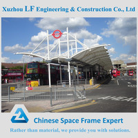 Steel structure car parking roof