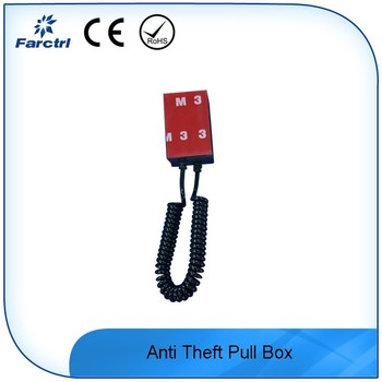 Mobile Phone Display Retractable Cable Security