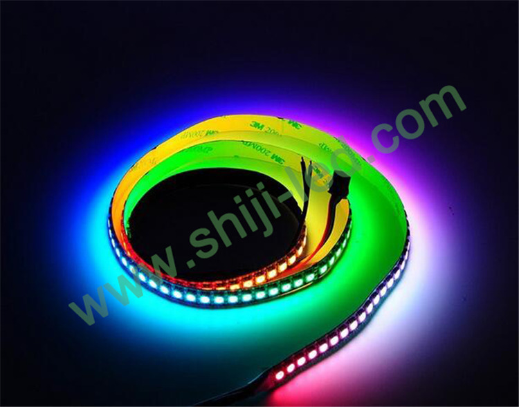 Waterproof dc5v smd5050rgb ws2812b led strip