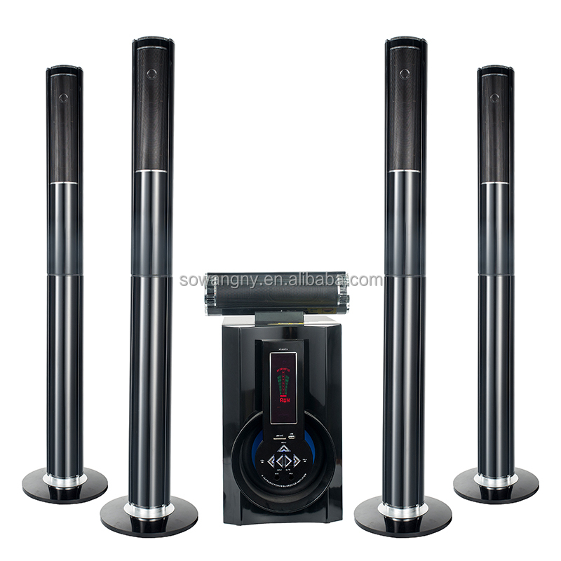 stereo 5.1 speaker system multi functional amplifier speaker with power amplifier, usb, quran mp3 player