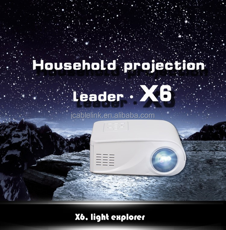 2016 New Mini Projector With Led Pocket Projector Full HD 1080P Home Theater Projector