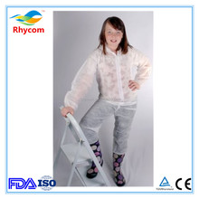 korea sewing machine production disposable coverall