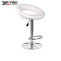 2017 Most Popular Swivel Adjustable PU Wooden Bar Stools