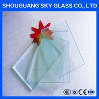 1mm-3mm Large Size Cutting Size Clear Glass Sheet Prices