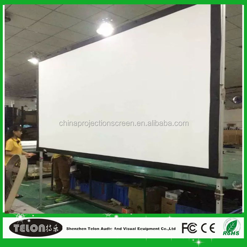 New product 2016 fast folding projector screen drapes